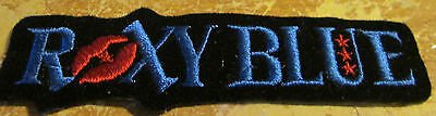 ROXY BLUE COLLECTABLE RARE VINTAGE PATCH EMBROIDED 90'S METAL LIVE