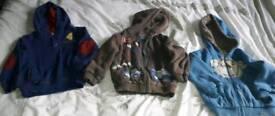 Boys 3-4 yrs hoodies