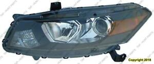 Head Lamp Driver Side Coupe Honda Accord 2008-2010