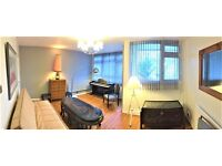 Modern doble and single rooms to rent in Camberwell