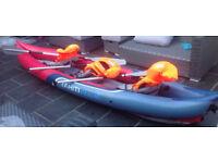 Tahiti Plus 3 Seat inflatable Kayak
