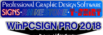 Sign Making Software Winpcsign 2018 Design Cutting T-shirt Templatesplotters