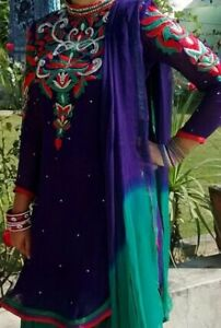 Purple & Emerald Patiala Suit. $95. Used ONCE. Condition 9.5/10