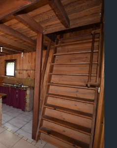Staircase - complete, timber. Suit loft, attic, mezzanine. Nimbin Lismore Area Preview
