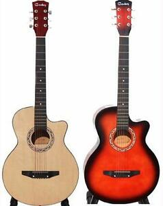 Best gift for Christmas 2 for $169.98 Acoustic Guitars with Bag, String set, picks for beginners, Students, children