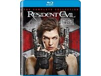 Resident Evil The Complete Collection Blu-ray Box Set