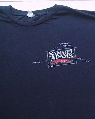 SAMUEL ADAMS Boston Lager XL T-SHIRT beer
