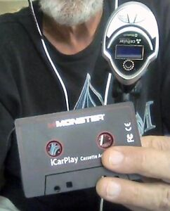 Bluetooth adapter and cassette adapter