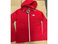 Mens red northface jacket