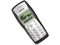 Nokia 1100 black, new & Unlocked condition, great phone, long battery life