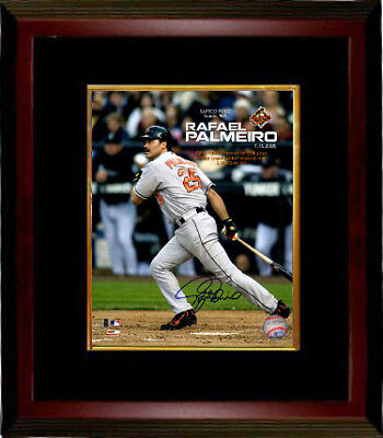 Rafael Palmeiro signed Baltimore Orioles 8x10 Photo Framed (3000th Career - 3000th Hit Framed 8x10 Photograph