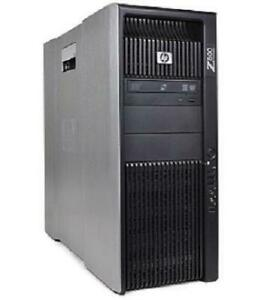 HP Z800 - Dual Xeon Processor - 24Gb to 192Gb RAM , Ultimate WorkStation , Rendering Machine ,Virtualization , Home LAB