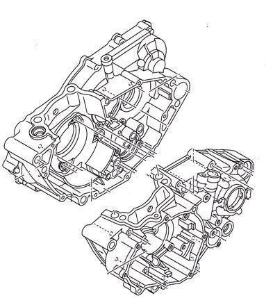 Yz450f Crankcase