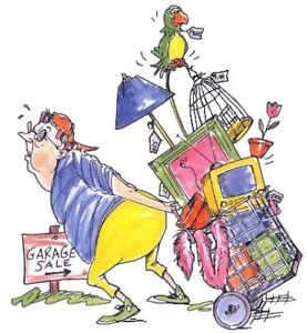 Garage Sale - One Day Only!!  8:00 AM - 1:00 PM