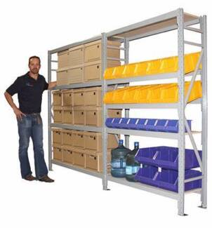 Longspan Shelving Systems-Huge Range of Sizes Available-In Stock