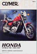 Honda VT 700 Manual