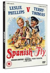 SPANISH FLY. Terry Thomas, Leslie Phillips. Brand new sealed DVD.