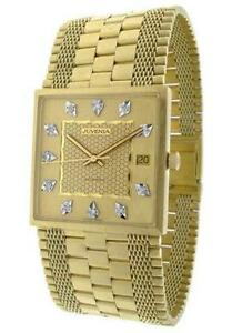 mens solid gold watch men s 18k solid gold watch