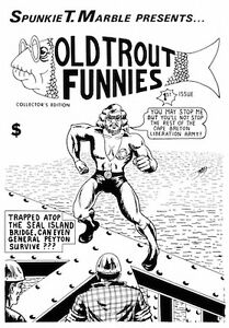 WTB Old Trout Funnies Comics & CBLA Memorabilia