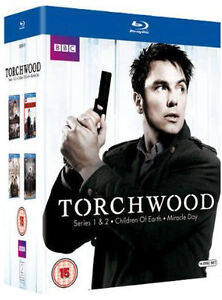 TORCHWOOD: COMPLETE SERIES 1 2 3 4 BLU-RAY (AU/NZ) *NEW*
