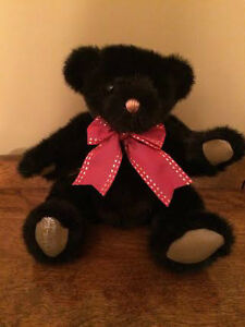 Gund Signature Collection Bear 1990- Black Jack