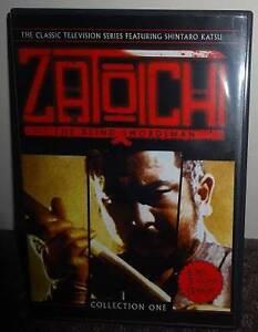 Zatoichi: The Blind Swordsman - Vol. 1 & 2 DVDs Morley Bayswater Area Preview
