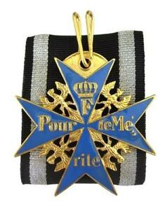 WW1 Repro German BLUE MAX MEDAL Pour Le Merite Award Military Order High Quality