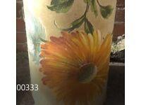 Eames styleScandinavian Retro 60s vintage large flower lamp shade floor light
