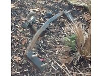 Ford Fiesta Mark 5 towbar with fixing brackets and bolts