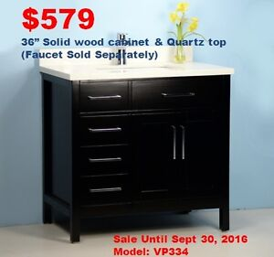 Bathroom Vanities from $129!(Oshawa Store Grand Open 10% off)