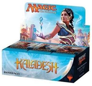 NEW MAGIC KALADESH TRADING CARD BOX - 112946728 - Magic the Gathering Booster Box (36 PACKS)  Collectible Card Games ...