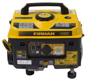 Brand new Firman Gas Generator 1300/1050 watts