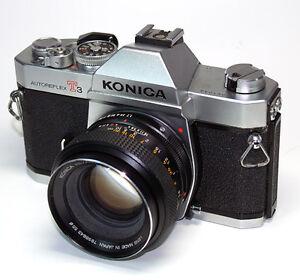 Konica T3 Autoreflex ; 50mm AR f1.7 (35mm Film Camera)