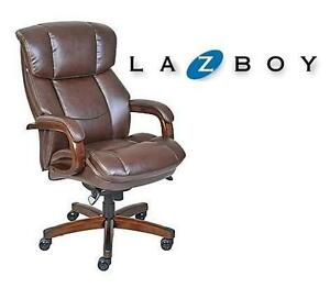 NEW* LA-Z-BOY TALL EXEC CHAIR Fairmont Big and Tall Executive Chair, Dark Brown 102348447