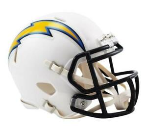 """Los Angeles Chargers Riddell """"Speed"""" Mini Helmet (New) Alberta Preview"""