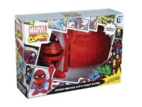 Spiderman egg cup and toast cutter