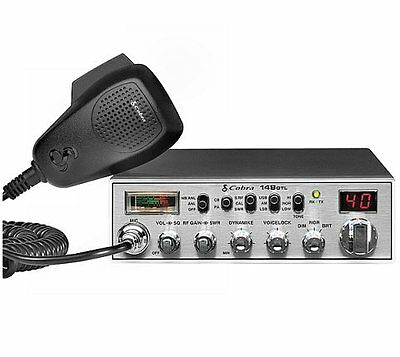 NEW! COBRA 148GTL 40 Channel AM 80 SSB Classic Mobile CB Radio 12 Watt Radio on Rummage