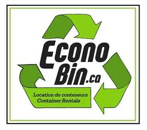 EconoBin Container Rental Lowest Price Location de Conteneurs Gatineau Ottawa / Gatineau Area image 8