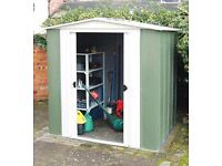 Brand new in box 8 x6 metal shed