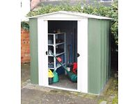 Brand new in unopened box 8 x 6 metal Greenvale shed