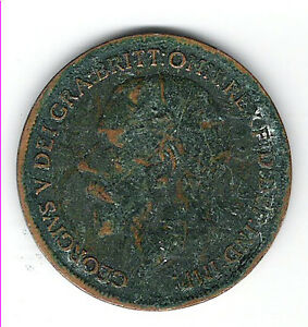 Coin 1919 Great Britain 1 Cent Penny