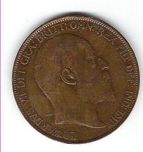 1907 British Penny