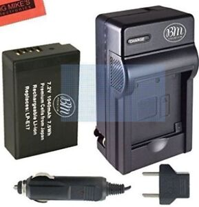 Battery chargers & batteries (3 of each) for Canon DSLR