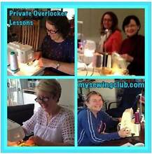 Private Overlocker Lesson on the Gold Coast,  mysewingclub.com Gold Coast Region Preview