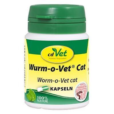 cdVet® Wurm-o-Vet Cat Kapseln Katze Wurmbesatz bei und nach Wurmkur Entwurmung