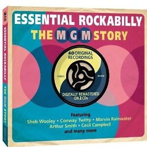 THE MGM STORY - ESSENTIAL ROCKABILLY -  2CD SET