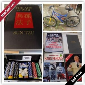 Mississauga Downsizing Online Auction - Tamar Mews (Aug 24)