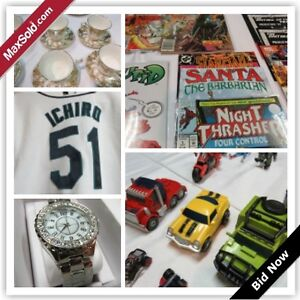 Vancouver Downsizing Online Auction-Ontario St.(Storage)- May 2