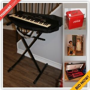 Thornhill Downsizing Online Auction - Donnamora Cres(Dec 14)