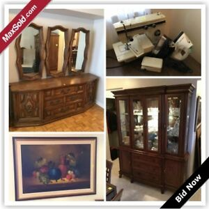 Vaughan Moving Online Auction - Rutherford Road (Jan 23)